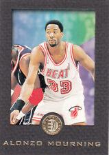 1995 SkyBox Black Parallel E-XL NBA  Alonzo Mourning Card #43