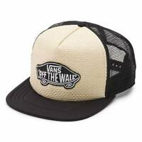 Vans Off The Wall Classic Patch Straw Adjustable Trucker Hat Cap New NWT OSFA