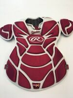 GAME WORN USED SOUTH CAROLINA GAMECOCKS USC BASEBALL Chest Protector