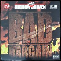 "RIDDIM DRIVEN ""BAD BARGAIN"" 2005 2X LP COMPILATION MR. VEGAS, SIZZLA *SEALED*"