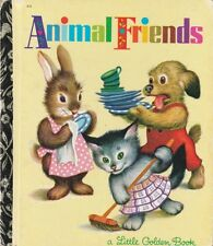 VINTAGE LGB LITTLE GOLDEN BOOK SYDNEY No.316 ANIMAL FRIENDS