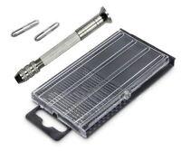 S078 - 20 Stück Mini Bohrer 0,3-1,6mm Sortiment Miniaturbohrer mit Handbohrer