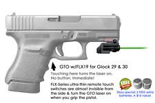 ArmaLaser GTO for Glock 29 & 30 GREEN Laser Sight w/ FLX19 Grip Touch Activation