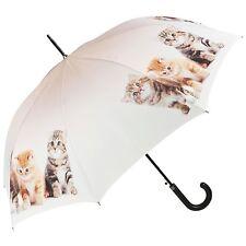 Lilienfeld Designer automatico Von ombrello da passeggio trio gattini gatto Amanti Regalo