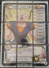 VEGITO SUPER SAIYAN LV2 PUZZLE [NM] #125 Fusion Dragon Ball Z Ccg Tcg Dbz Score