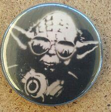 DJ Yoda Pin  Back Badge  Star Wars Empire Strikes Back