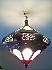 Lustre plafonnier marocain fer forgé lampe applique lanterne suspension 3l
