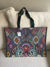 Vera Bradley Tote Painted Medallions 60 Recycled Reusable Ship