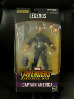 "Marvel Legends 6"" Captain America Infinity War MCU New Sealed w/Thanos BAF Mint"