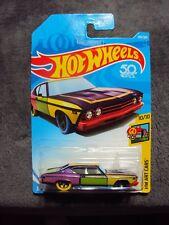New Hot Wheels '69 Chevelle Ss 396 #302 (10/10!) Hw Art Cars