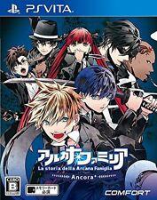Used PS Vita Arcana Famiglia La storia della Arcana Famiglia Ancora Japan