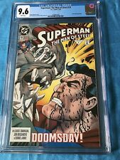 Superman: Man of Steel #19 - DC - CGC 9.6 NM+ - Doomsday