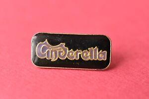 Cinderella Pin badge Rock music Band Hair Metal Group
