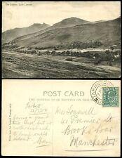 SCOTLAND 1904 PPC TARBET LOCH LOMOND POSTMARK