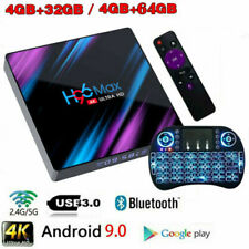 More details for h96 max android 10.0 tv box 4gb+32gb/4gb+64gb hd media player 4k 2.4g/5ghz wifi