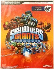 GUIDE stratégique SKYLANDERS GIANTS pour jeux video Xbox 360 PS3 Wii & Wii U