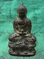 Healing Buddha Statue Chinese Tibetan Talisman Figurine Thai Buddhist Amulet