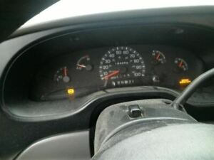 Speedometer Cluster MPH Thru 3/19/00 Fits 99-00 FORD E150 VAN 881866