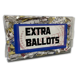 2020 Election Missing Ballots Box - Fun White Elephant Ideas, Political Gag Gift