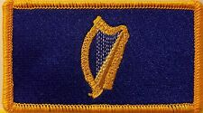 Standard President of Ireland Flag Patch With VELCRO Brand Fastener Gold #6