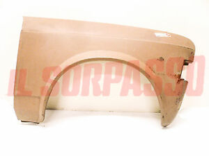 Front Fender Right Fiat 128 Sedan 1 Series + Rally Original