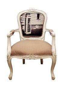 Mahogany Wood Living Room Chair