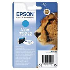Epson T0712 Cyan Encre Cartouche C13T07124012 [EP62450]