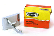 Taymor Single Robe Hook Wall Mount With Bracket and Hardware Chrome 9401