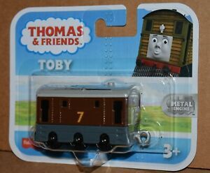 THOMAS & FRIENDS TOBY  METAL ENGINE NEW