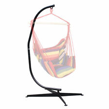 Steel C-Frame Hammock Stand For Hammock Chair Air Porch Swing Indoor Outdoor