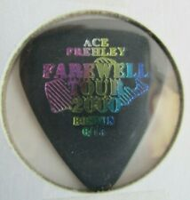 AUTHENTIC ACE FREHLEY 2000 FAREWELL TOUR BOSTON GUITAR PICK FORMER KISS LEGEND