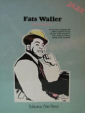 """FATS WALLER """"REMINESCENCE"""" 12 MORCEAUX ORIGINAUX POUR PIANO"""