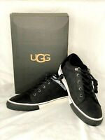 UGG Mens Brock II Waterproof Black Leather Sneaker Shoes US 8 or 9 New With Box