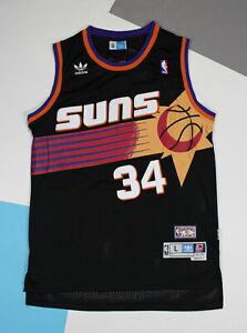 Zyf Maillot De Basket Charles Barkley 14# Jersey Basketball Hommes XS-XXL T-Shirt Sweat Brod/é R/ésistant /À lusure Respirante