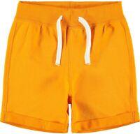 NAME IT Jungen Sweat Shorts Jogginghose NKMPaw orange Größe 128 bis 164
