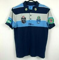 Classic NSW State of Origin Polo Shirt Men's Size Medium VB