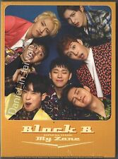 Block B: Japan 1st Album - My Zone (2016) CD & DVD & PHOTO BOOK & CARD