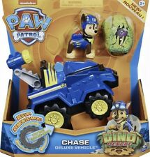 NEW/UNUSED Paw Patrol, Dino Rescue Chase Deluxe Rev Up Vehicle
