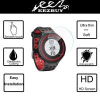 3X LCD Screen Protector Skin Film For Garmin Forerunner 220/225/230/235/620/630