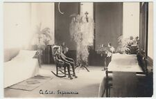 CANADA NOVA SCOTIA CHURCH POINT REAL PHOTO POSTCARD BOY AT INFIRMARY CIRCA 1910