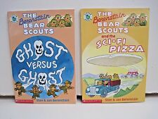 The Berenstain Bear Scouts by Stan & Jan Berenstain, Lot of 2 Paperbacks
