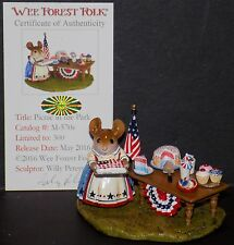 NMIB WEE FOREST FOLK LIMITED EDITION FOURTH OF JULY PICNIC IN THE PARK M-570s
