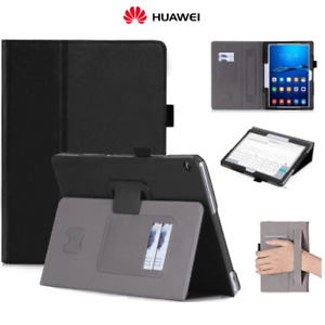Cover Case For Huawei Mediapad M3 Lite 10 IN Real Leather With Carries Weave