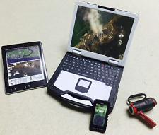 """1/6 Scale Set Of 4 Notebook DV Camera Pad Mobile Phone For 12"""" Action Figure"""