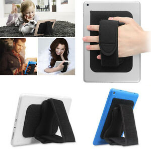Universal Tablet Hand Strap Holder Detachable Padded Hook & Loop for iPad/Galaxy