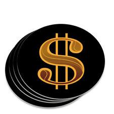 Dollar Sign Symbol Novelty Coaster Set