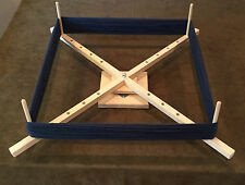 Large Yarn Swift, Skeinwinder with ball bearing base! Handcrafted in the USA!