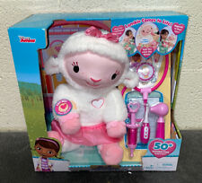 Authentic Disney Store Doc McStuffins Growth Chart Toy Hallie Chilly Lambie NIB