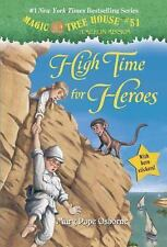 A Stepping Stone Book(TM): Magic Tree House #51: High Time for Heroes by Mary...