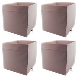 DRÖNA, hellrosa, 4 St, IKEA, KALLAX, Regal, Fach, Box, Aufbewahrung, 33x38x33cm